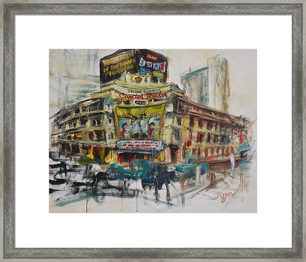 Framed Print featuring the painting Yesteryear by Yen