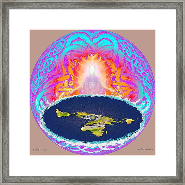 Yhwh Creation Framed Print