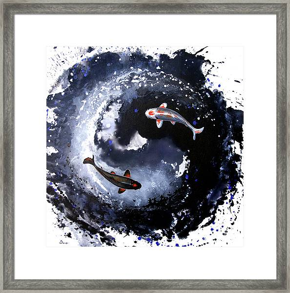 Yin - Yang Framed Print