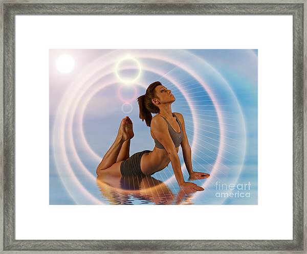 Yoga Girl 1209206 Framed Print