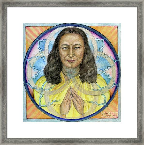 Yogananda Framed Print