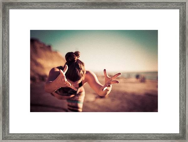 Yogic Gift Framed Print
