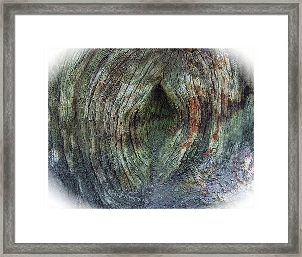 Yoni Au Naturel Une Framed Print