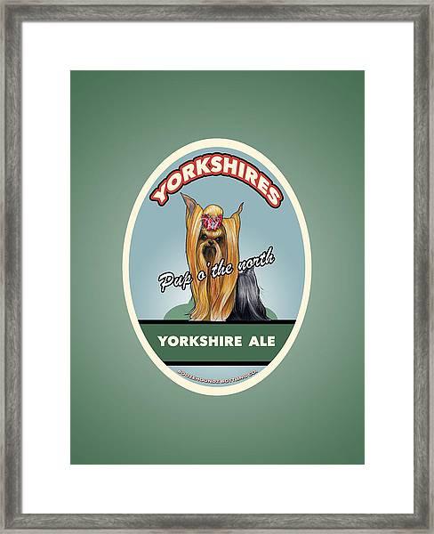 Yorkshire Ale Framed Print