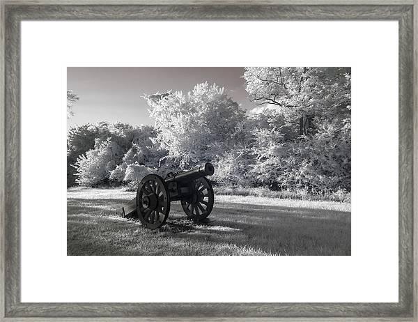 Yorktown - Cannon Framed Print