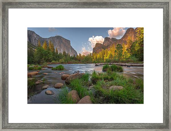 Yosemite Evening Framed Print