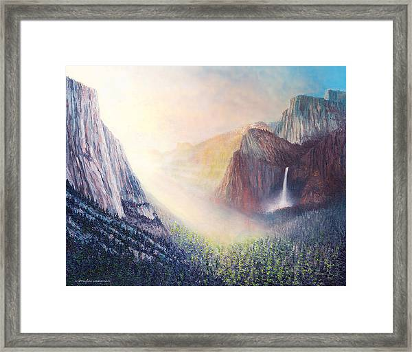 Yosemite Morning Framed Print