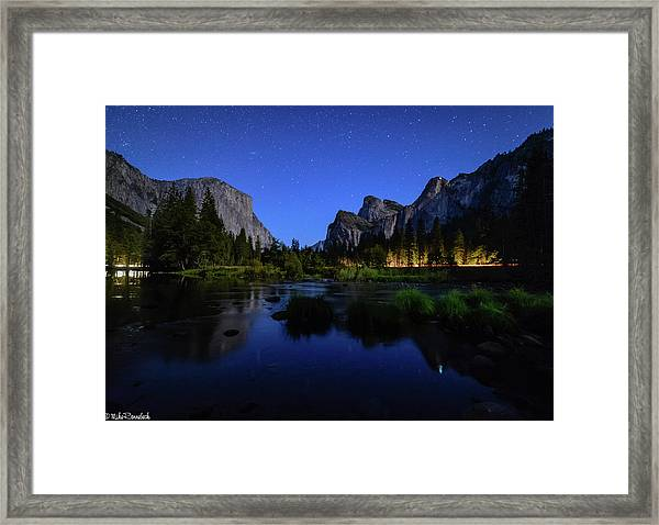 Yosemite Nights Framed Print