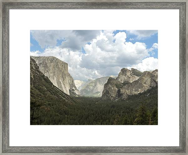 Yosemite Valley Yosemite National Park Framed Print