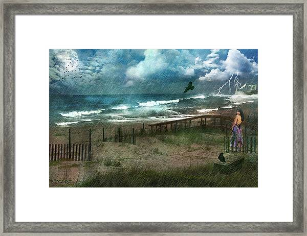 You Are So Far Away Framed Print