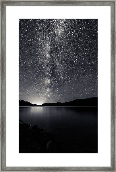 You Know That You Are Framed Print