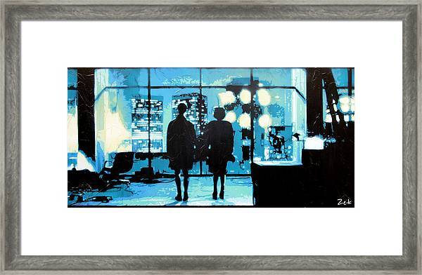 You Met Me At A Very Strange Time In My Life Framed Print