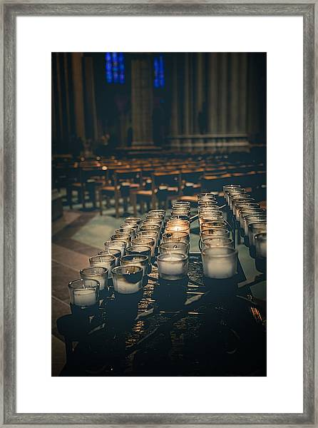 You Were There For Me Framed Print
