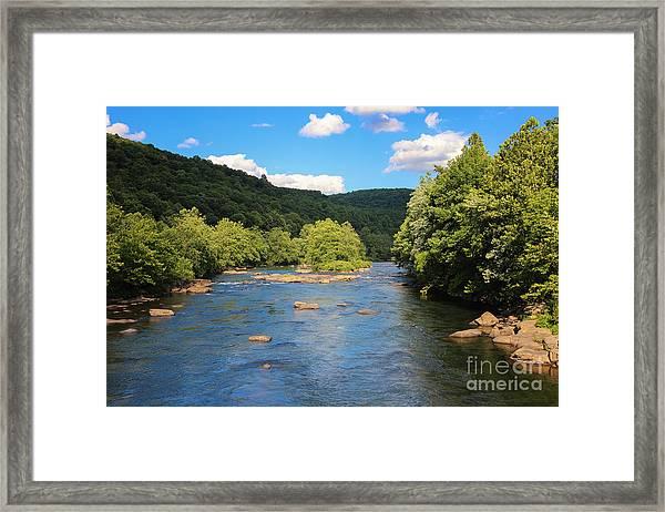 Youghiogheny River Framed Print