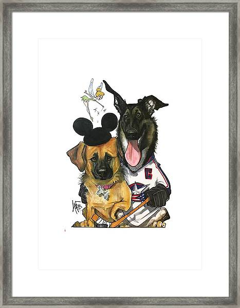 Young 3268 Framed Print