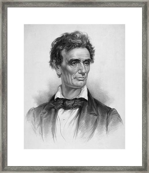 Young Abe Lincoln Framed Print