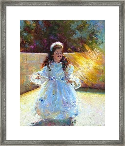 Young Queen Esther Framed Print