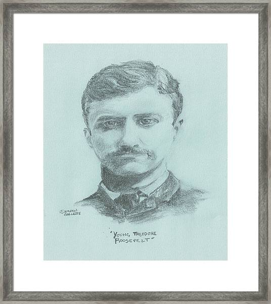 Young Theodore Roosevelt Framed Print