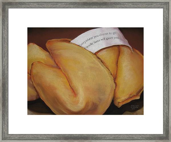 Your Good Fortune Framed Print