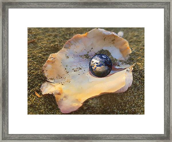 Your Oyster Framed Print