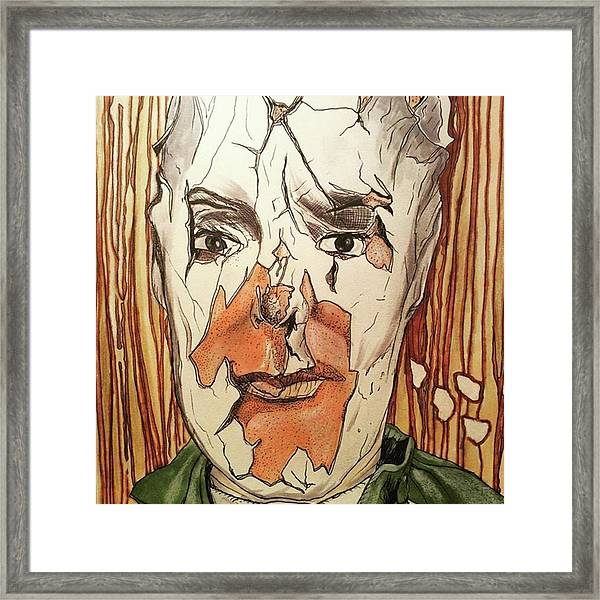 Fallen Soldier Framed Print by Russell Boyle