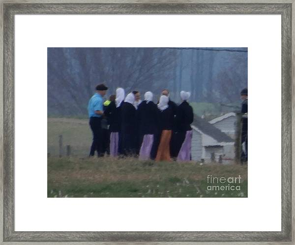 Youth Group Framed Print