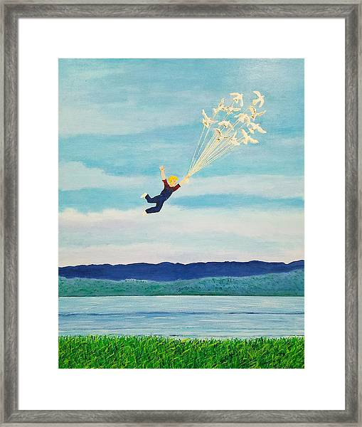 Youth Is Fleeting Framed Print