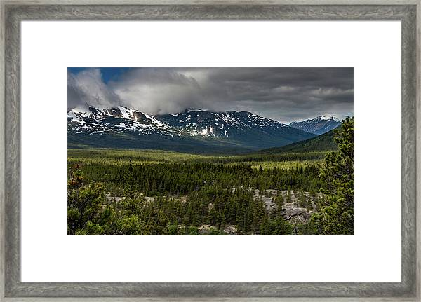 Yukon Wilderness Framed Print