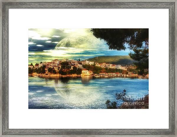 Yvonnes World Framed Print