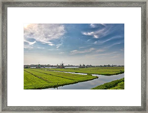 Zaandam Polders Framed Print