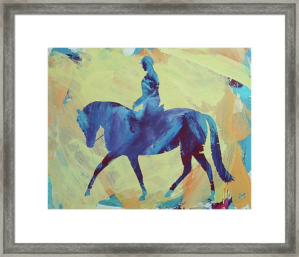 Framed Print featuring the painting Zahrah by Candace Shrope