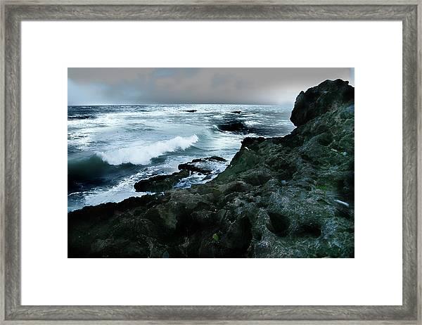 Zamas Beach #5 Framed Print