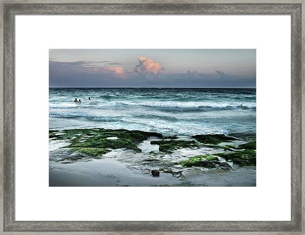 Zamas Beach #7 Framed Print