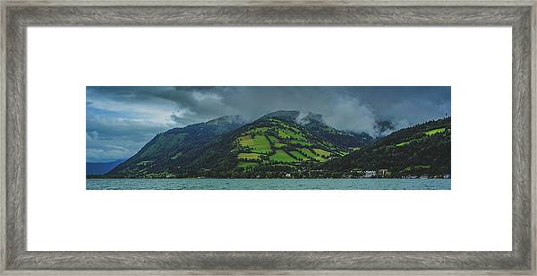 Zell Am See Panorama Framed Print