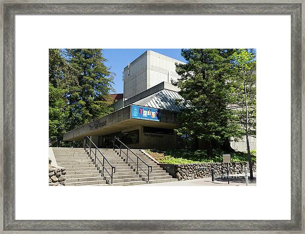 Zellerbach Playhouse At University Of California Berkeley Dsc6306 Framed Print