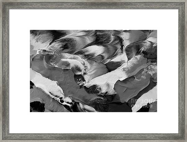 Zen Abstract Series N1015al Framed Print