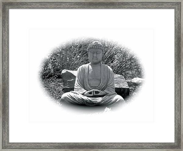 Framed Print featuring the painting Zen by Michael Lucarelli