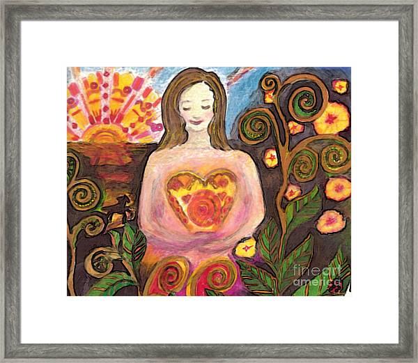 Zen Morning Framed Print