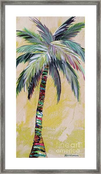 Zest Palm I Framed Print