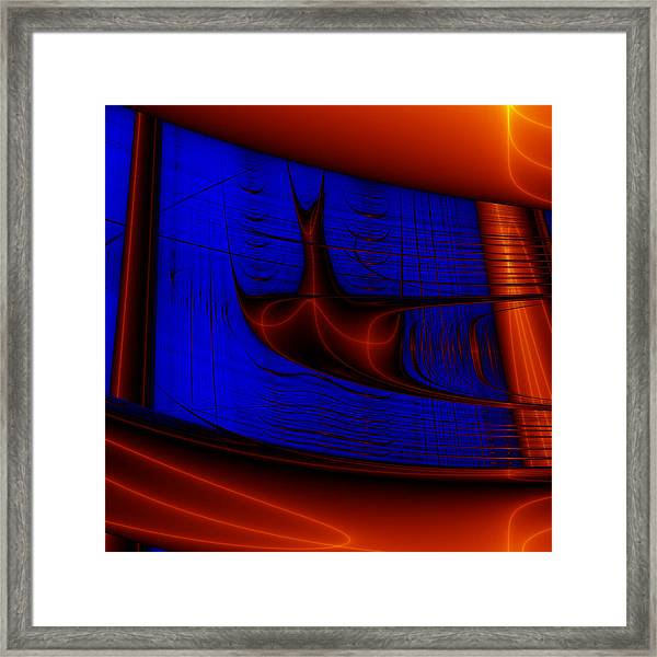 Zestbackle Framed Print