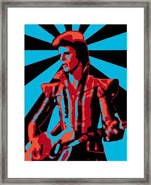 Ziggy Played Guitar Framed Print