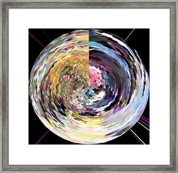Zing Framed Print