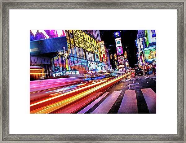 Zip Framed Print