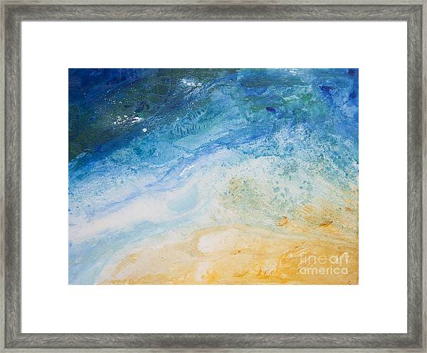 Zoom In Or Out Framed Print