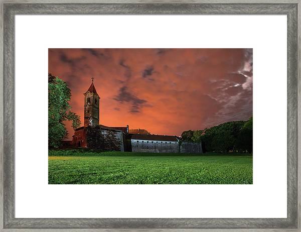 Zrinskis' Castle 2 Framed Print