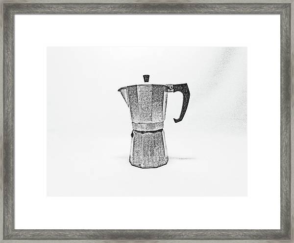 08/05/19 Cafetiere Framed Print