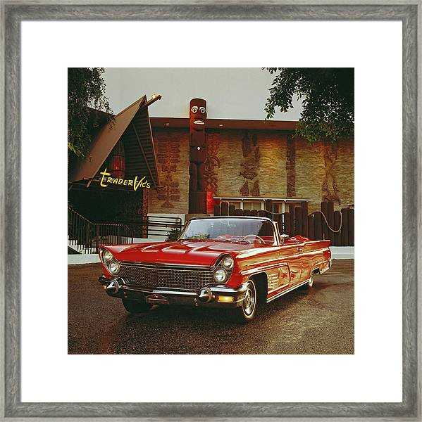 1960 Lincoln Continental Mark V Framed Print by Car Culture