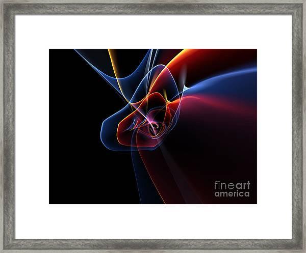 3d Rendered Backgrounds Framed Print