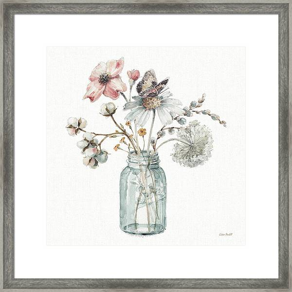 A Country Weekend Ix Framed Print by Lisa Audit