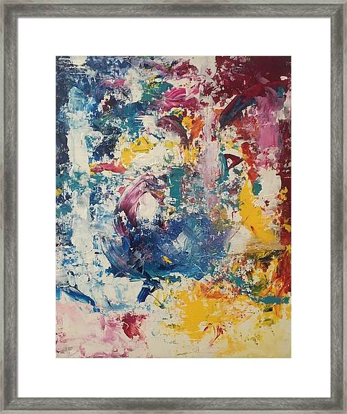 Playing With Color IIi Framed Print